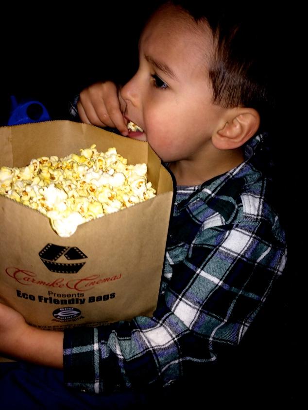 Harper's first movie