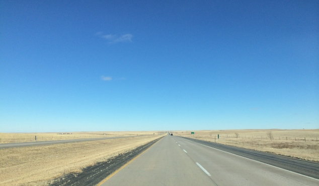 What 95% of a 6 hour drive across SD looks like