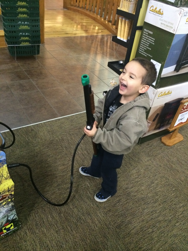 How Harper felt about Cabelas