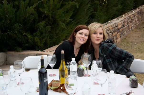 High school friends. These 2 are some of my oldest friends. What's great is even though we met at 14 they have grown into awesome women that I still adore. This picture was from my wedding 5 years ago! Haven't seen them in almost that long but I know we pick right up where we left off. I have to add that they are some of the most fun girls I've ever met.