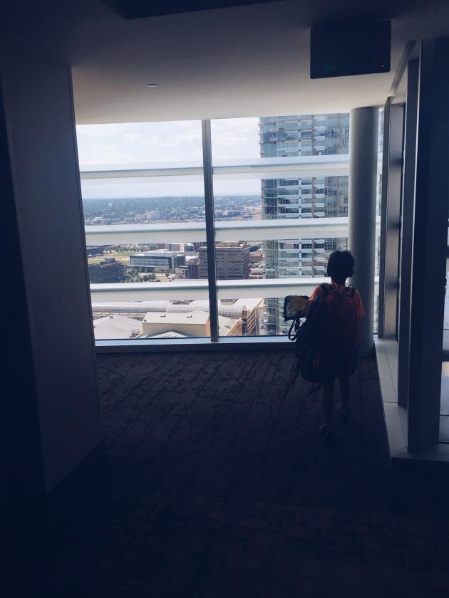 Harper loved the high views